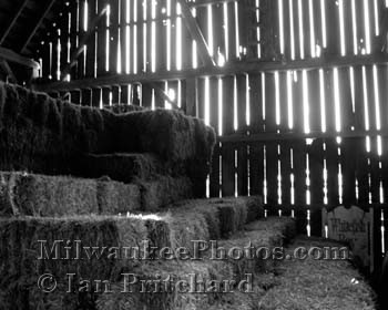 Photograph of Barn Interior from www.MilwaukeePhotos.com (C) Ian Pritchard