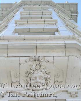 Photograph of Cudahy Faces from www.MilwaukeePhotos.com (C )Ian Pritchard