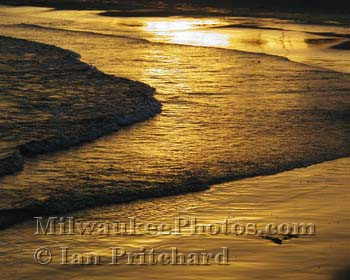 Photograph of Golden Waves from www.MilwaukeePhotos.com (C) Ian Pritchard